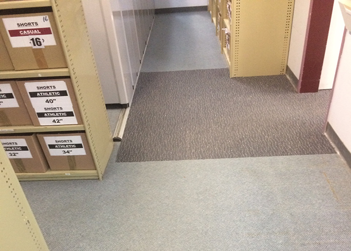 Before And After Installation Carpet Tiles For Office